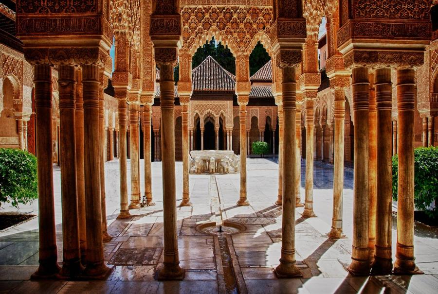 reasons to travel to andalucia alhambra palace courtyard
