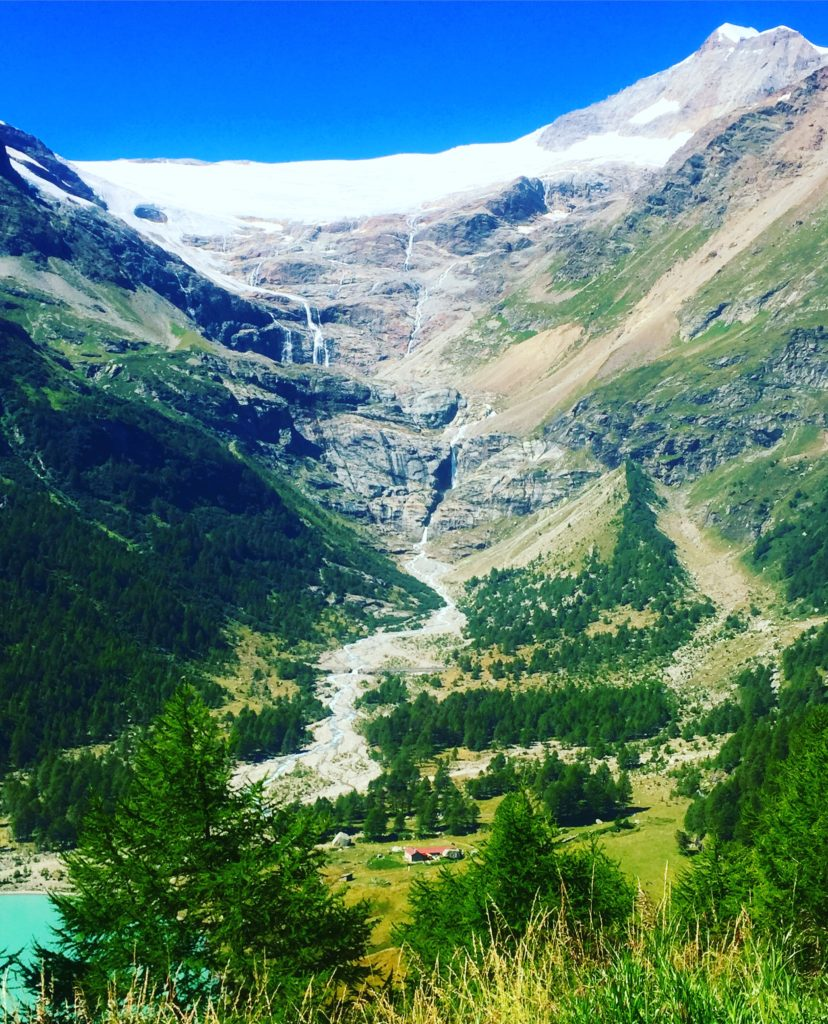 The awesome Bernina Pass