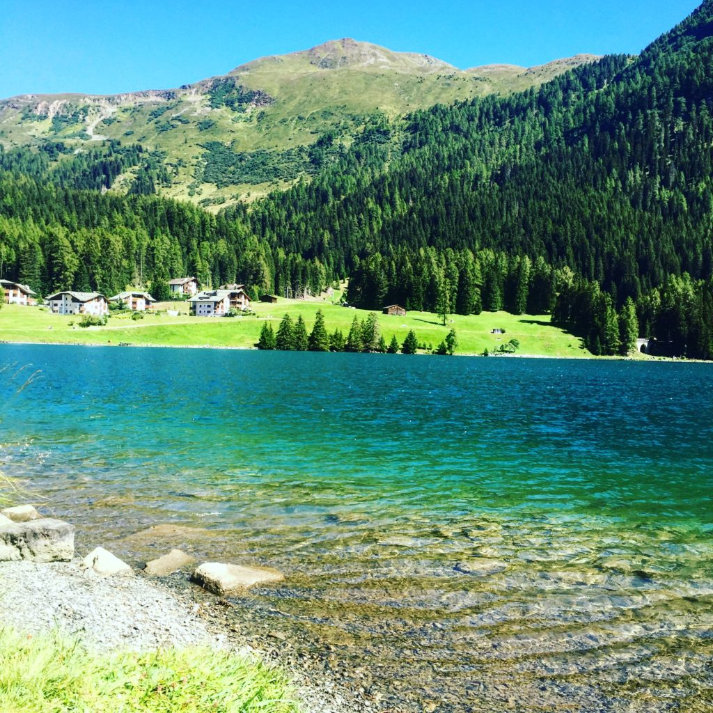 For another tranquil scene scene, visit the natural Davos Lake.