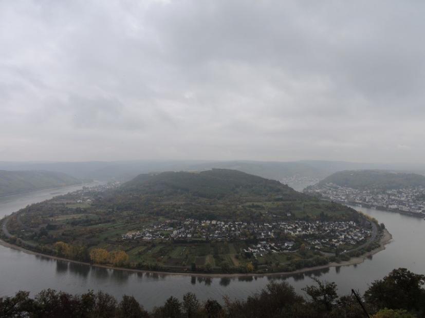 Rhine bend
