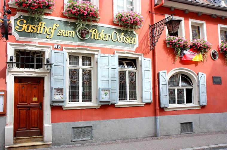 Outside Zum Roten Ochsen