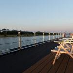 deckchair on the sun deck