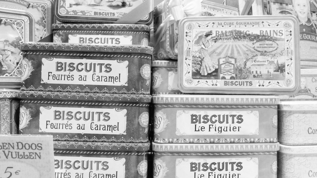 Biscuits at the market