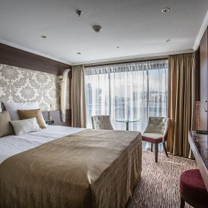 A Ruby Deck Suite on the MS Emily Bronte