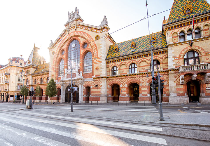 The Great Market Hall Building, Budapest