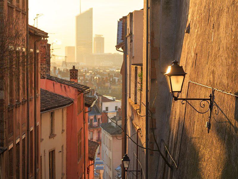 Lyon side street