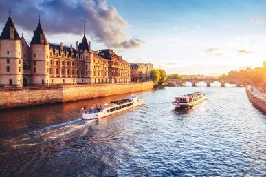 Experience a River Cruise Down the Seine