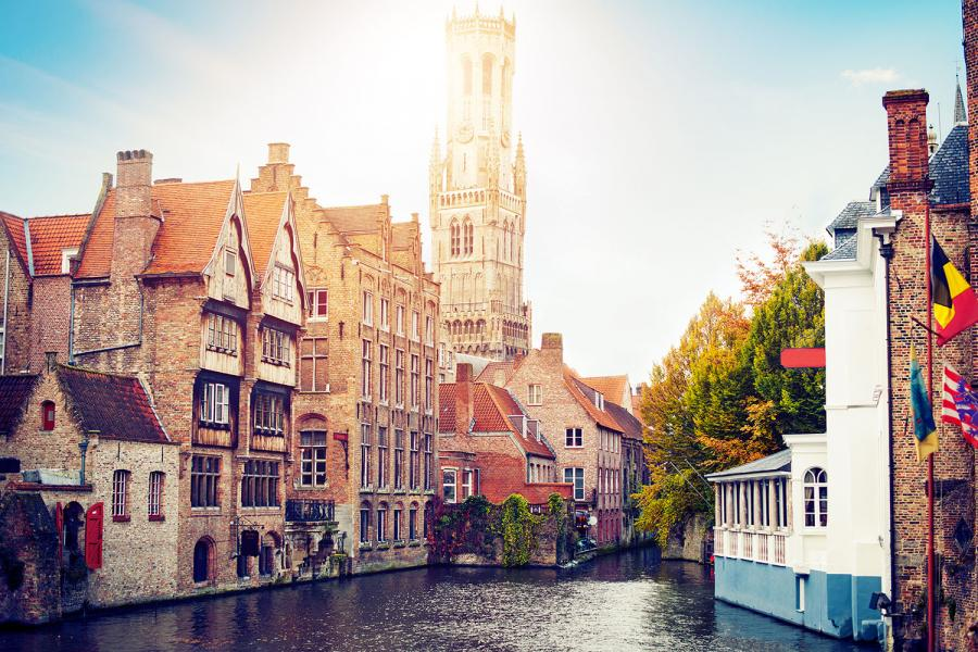 Best European Cities for Solo Traveller Bruges