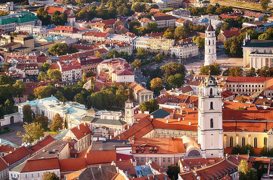 Best European Cities for Solo Travel Vilnius