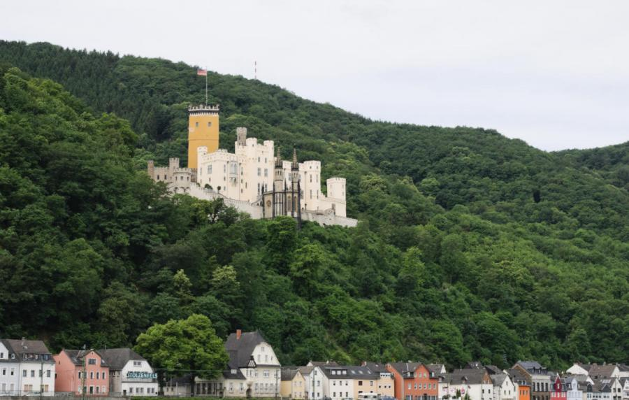Stolzenfels Castle along the Rhine River, Germany