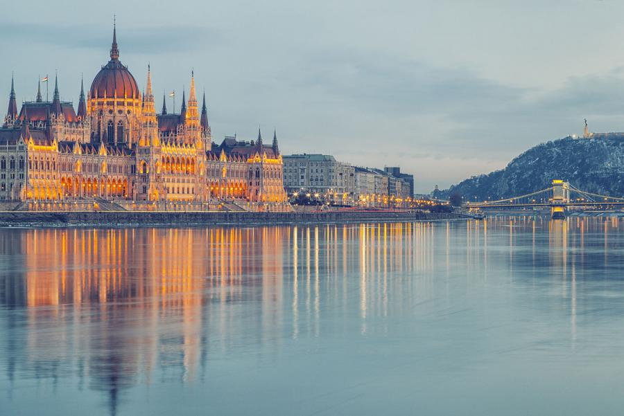 Rhine or Danube River Cruise – Which to Choose? Hungarian parliament building, Budapest