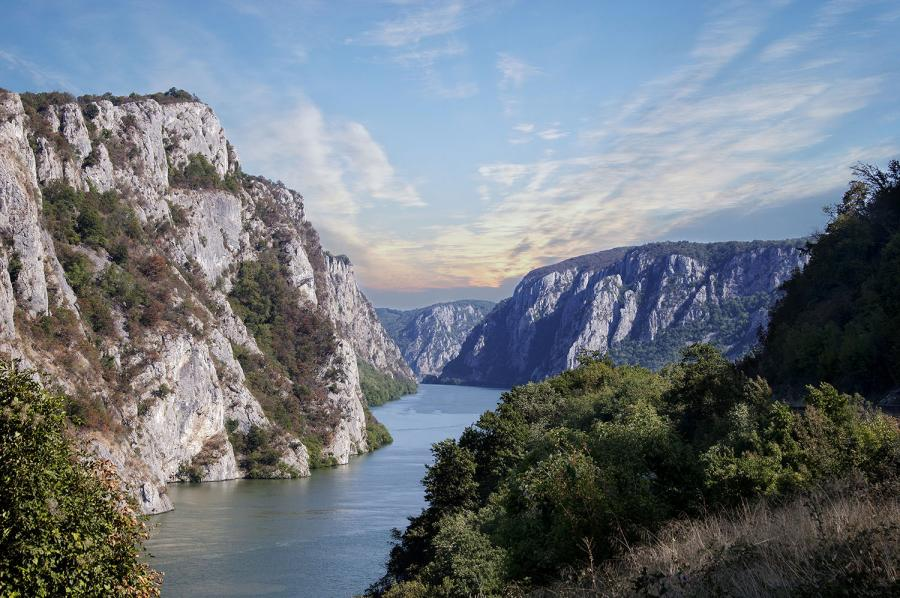 Rhine or Danube River Cruise – Which to Choose? Danube river through the Iron Gates