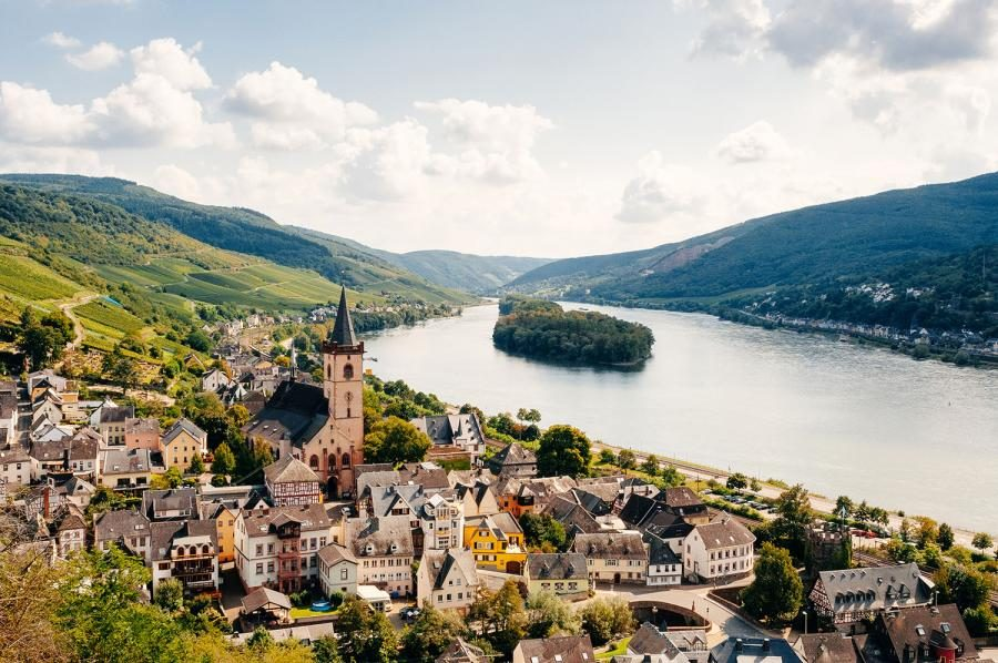 Rhine or Danube River Cruise – Which to Choose? Lorch in Germany