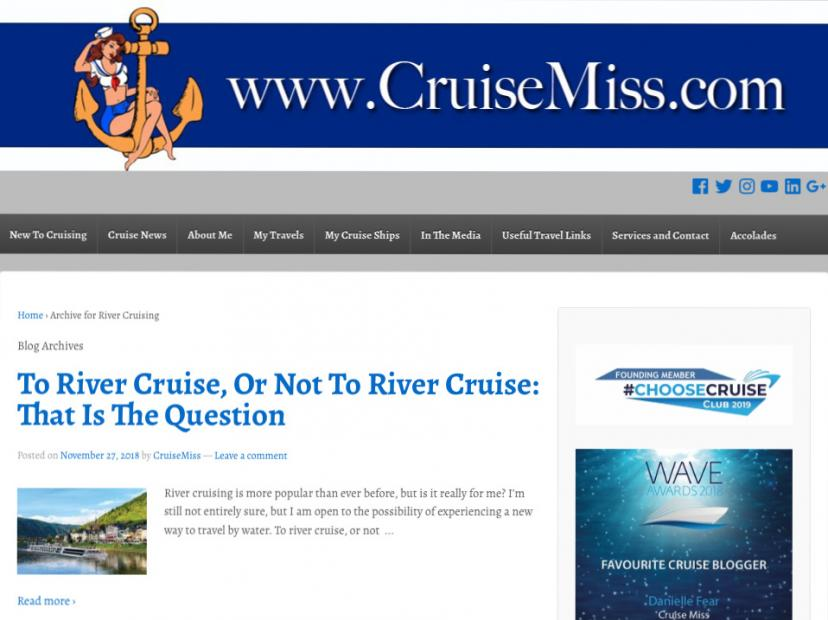 river cruise blog CruiseMiss