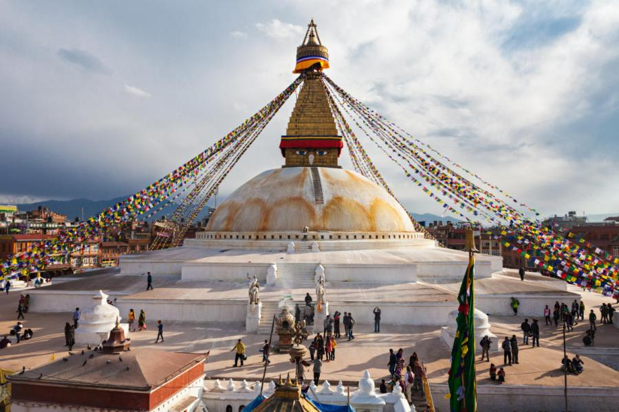 top 10 UNESCO world heritage sites Boudhanath stupa Kathmandu