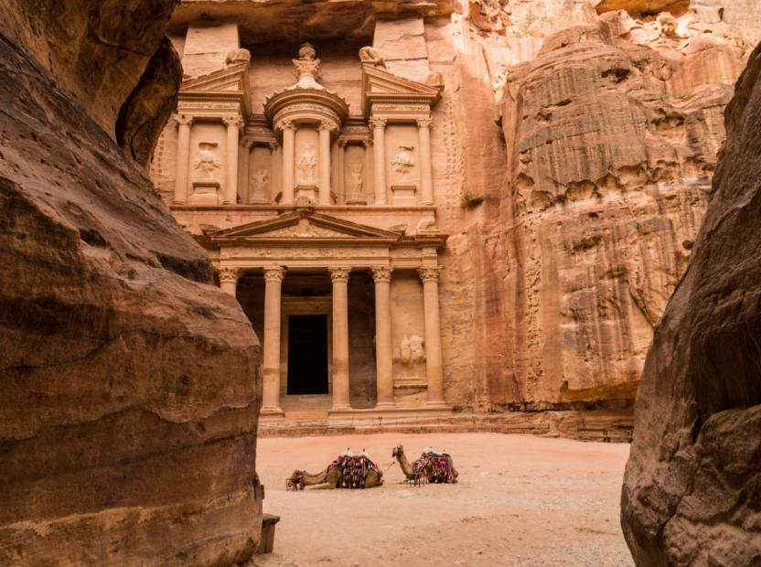 top 10 UNESCO world heritage sites the treasury petra
