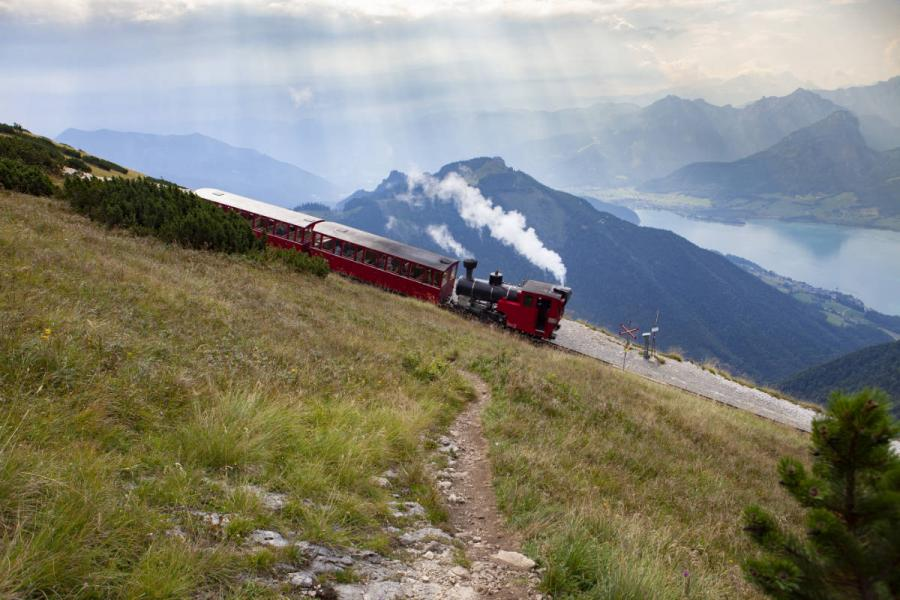 World's Best Railway Journeys Achensee Steam Cog Railway