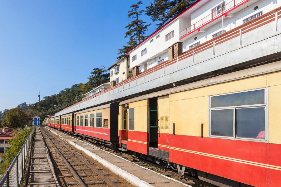 World's Best Rail Journeys Shimla Toy Train