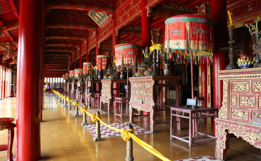 best places to visit in vietnam thai hoa palace hue