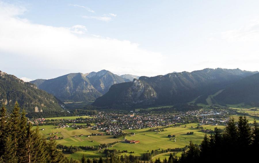 Oberammergau passion play oberammergau town