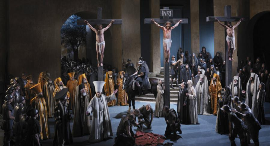 Oberammergau passion play crucifixion