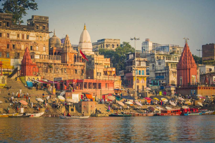 Asian river cruises varanasi india