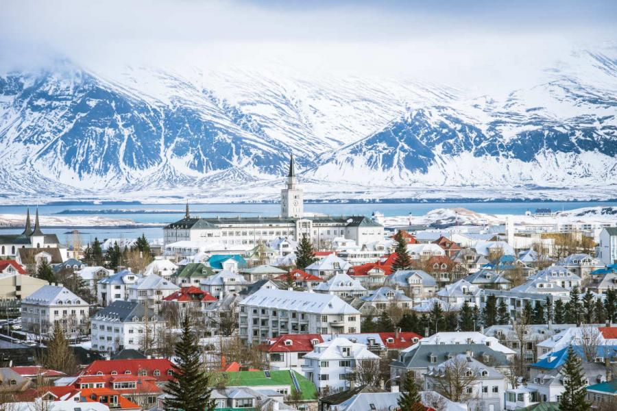 most romantic cities in europe reykjavik
