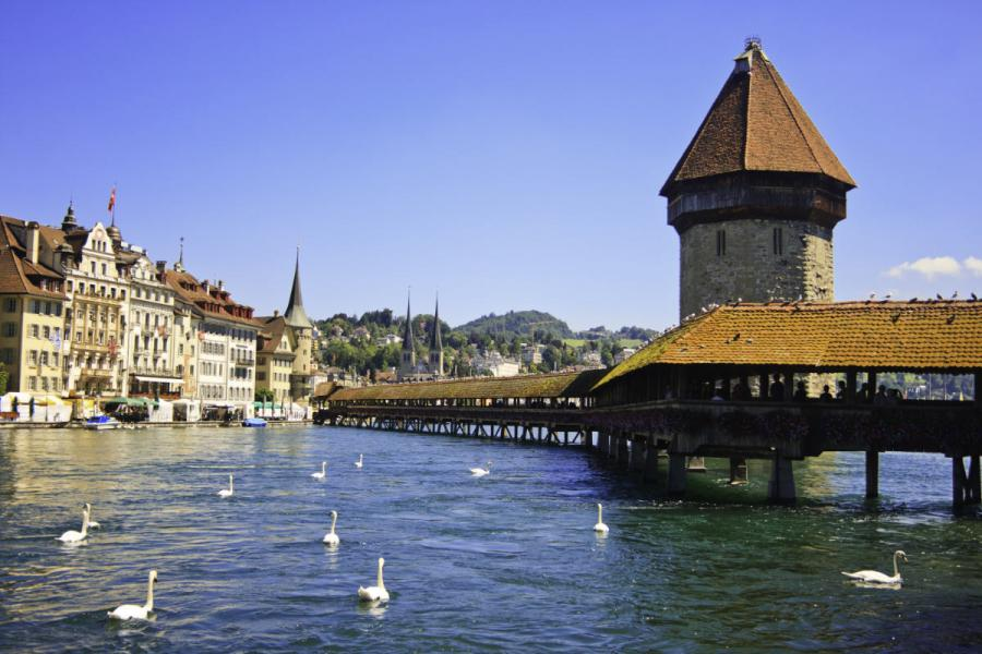 river cruises 2019 Europe Chapel Bridge Lucerne