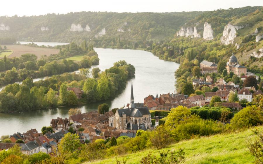 river cruises 2019 Europe Les Andelys