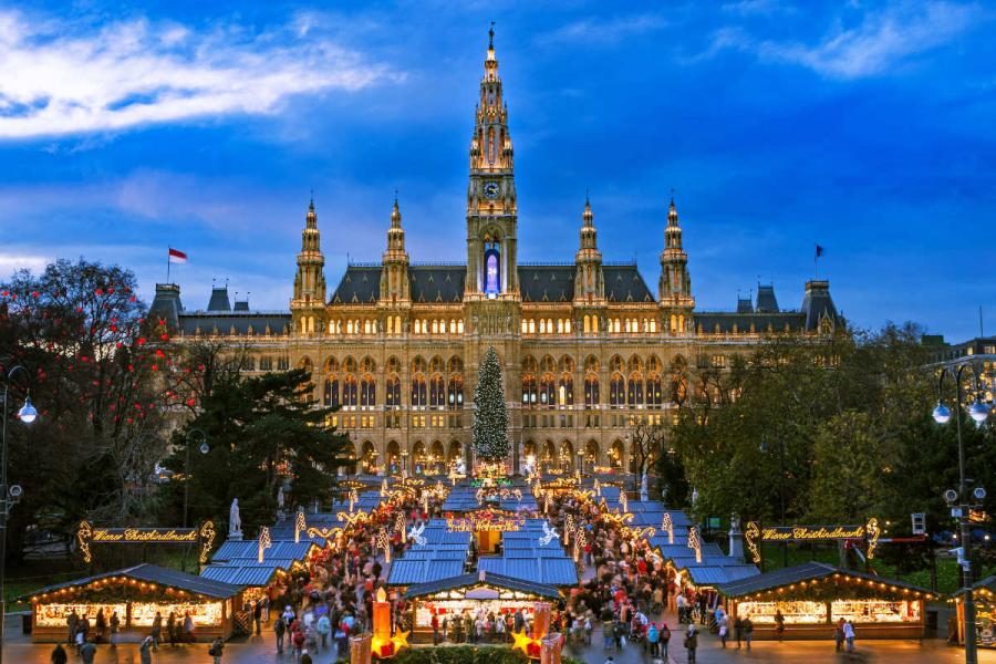 river cruises 2019 Europe Vienna Christmas Market