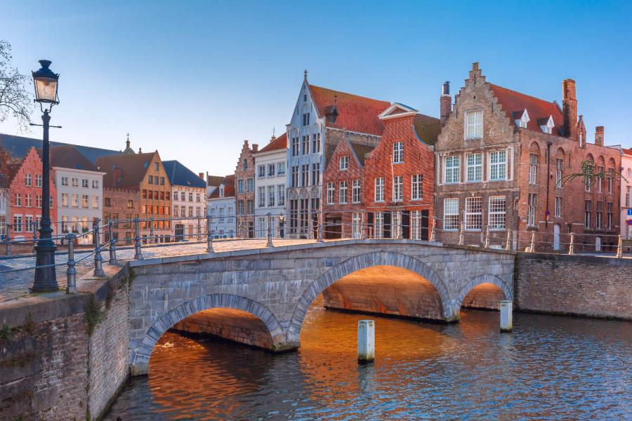 best walkable cities bruges