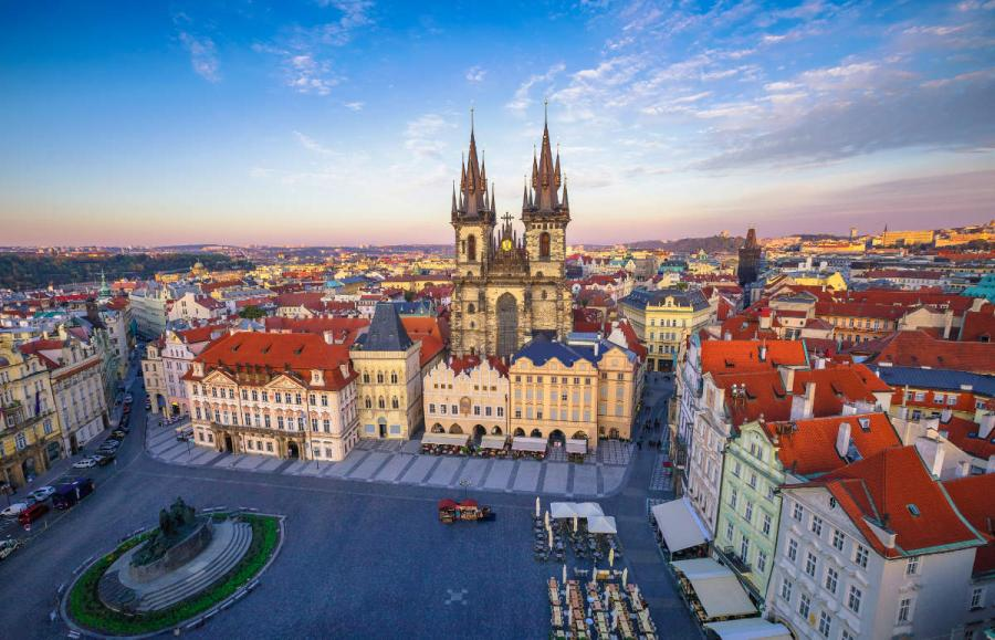 best walkable cities prague