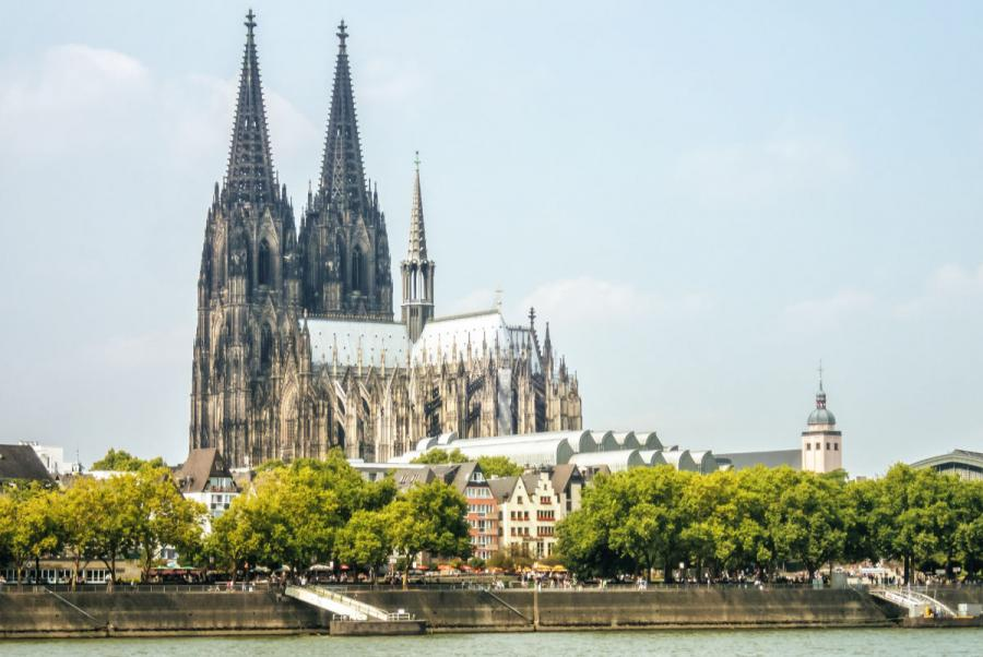 famous cathedrals cologne cathedral