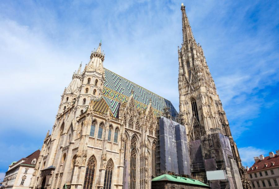 famous cathedrals st stephens cathedral vienna