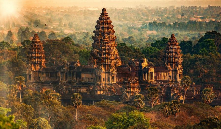 famous temples angkor wat