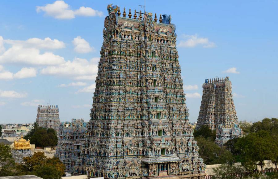 famous temples meenakshi amman temple madurai temple