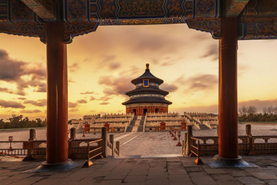 famous temples temple of heaven china