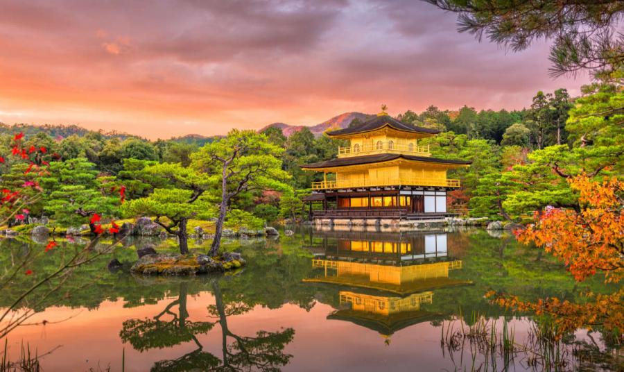 famous temples kinkakuji temple