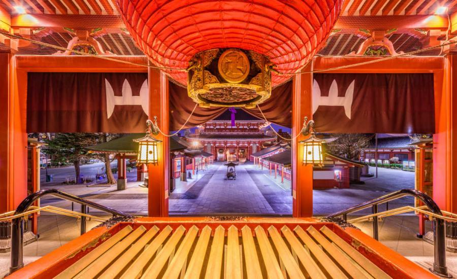 famous temples seneoji temple
