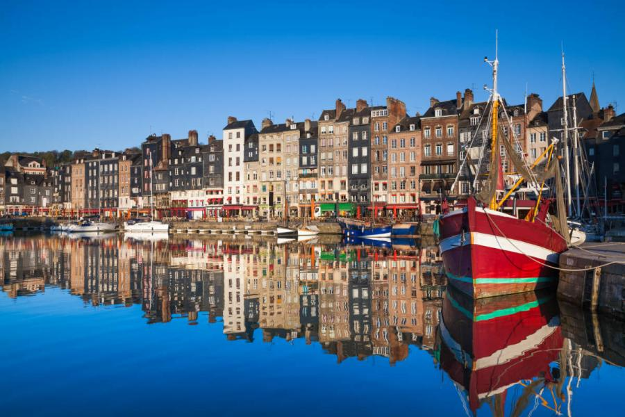 no fly river cruises honfleur harbour