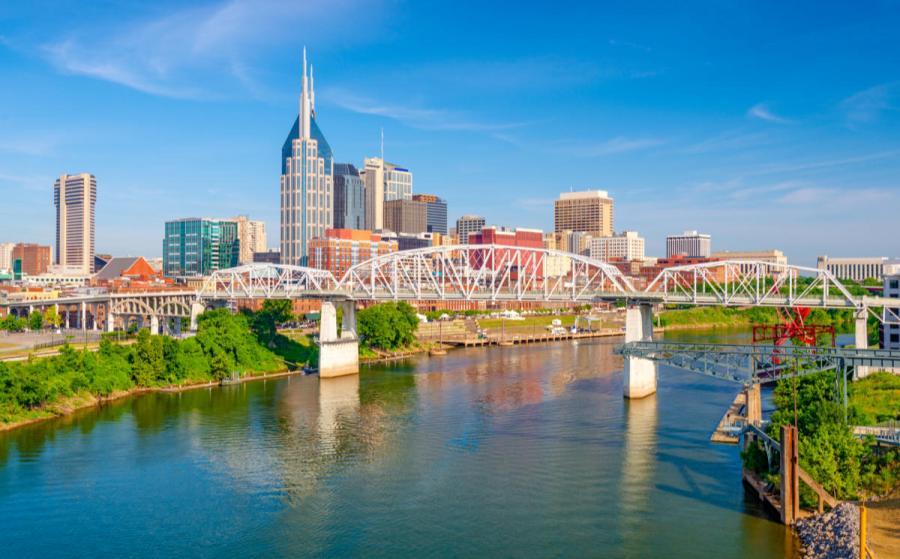 Nashville cityscape Nashville Tennessee