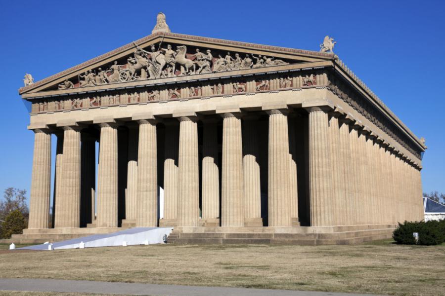 Nashville Parthenon in Nashville