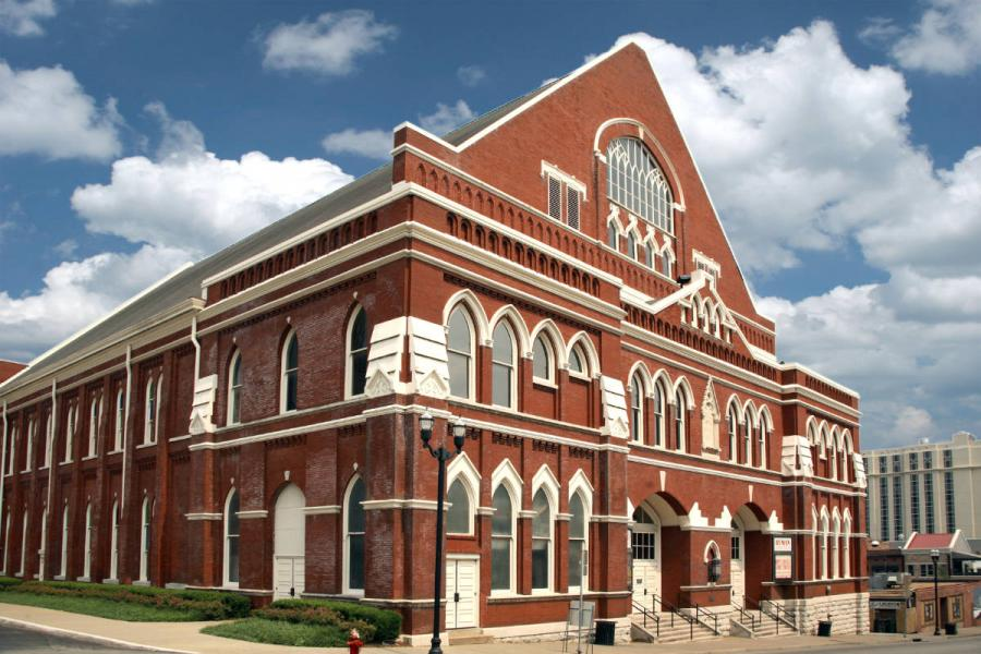 Nashville the Ryman Auditorium