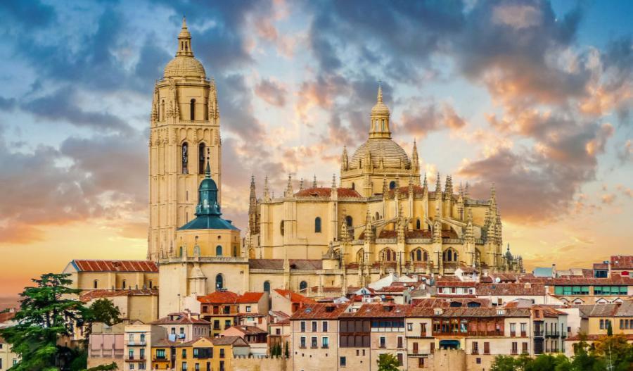 douro river salamanca cathedral
