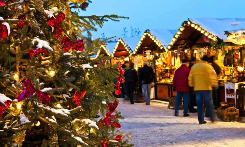 Europe bucket list Christmas market