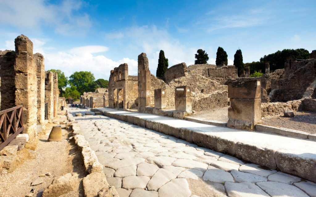 Europe bucket list Ruins of Pompeii, Italy