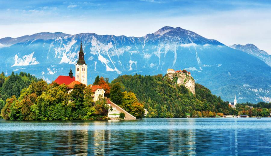 walking holidays europe lake bled slovenia