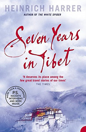 best travel books seven years in tibet