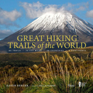 best travel books great hiking trails of the world