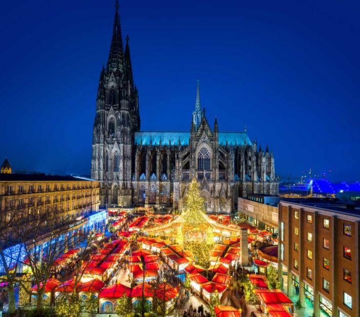 Christmas market cruise Cologne christmas market